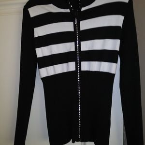 Belldini  black and white cardigan